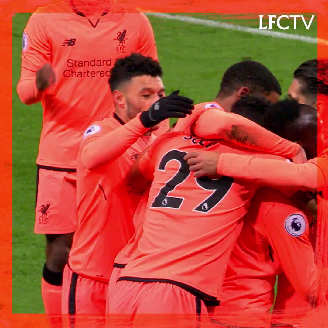 The Reds in orange 🔥