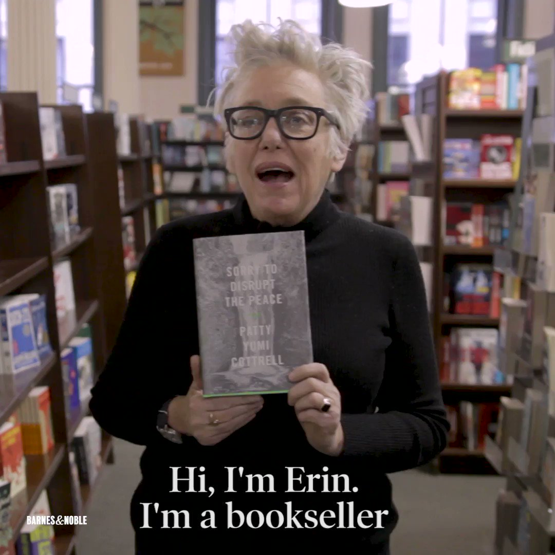 Wed not seen anything like this voice in quite a long time. - Erin, a reader for the Barnes & Noble Discover Great New Writers Program, on 2017 #BNDiscover finalist SORRY TO DISRUPT THE PEACE: spr.ly/6011DuaJZ