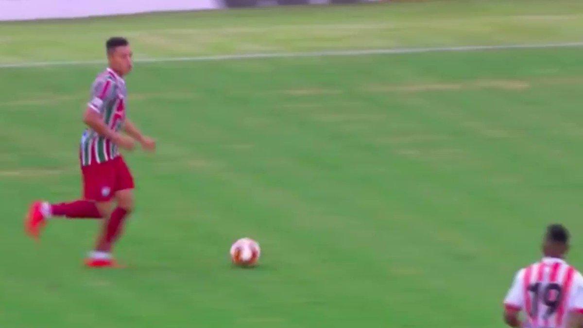 1, 2, 3, 4... Confira os gols da goleada...