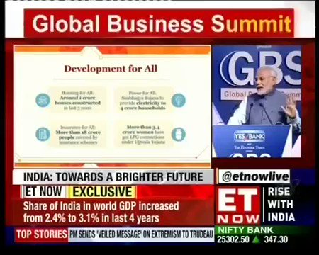 Our aim is India's growth and the empowe...