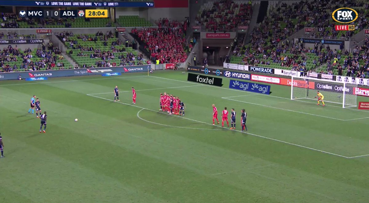 Leroy George, that is superb! #MVCvADL 2...