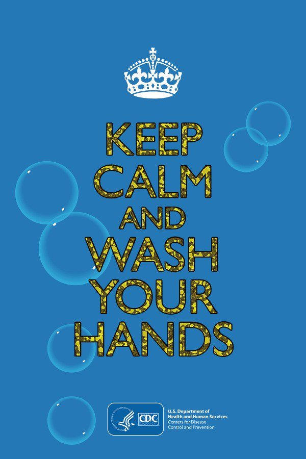 Image for the Tweet beginning: Germs are everywhere! Protect yourself