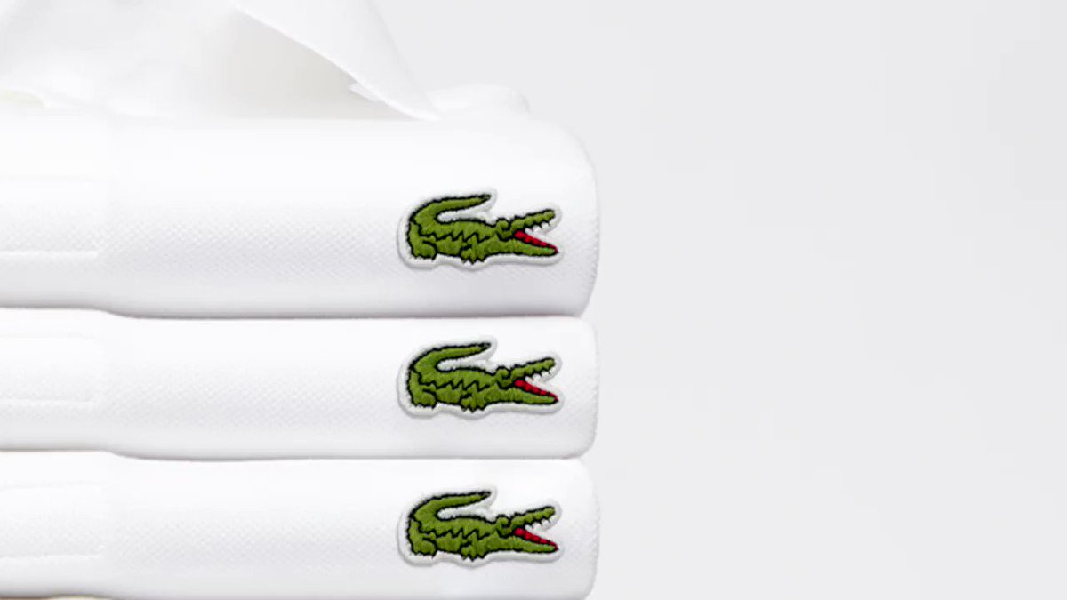 We love this clever but simple campaign from iconic brand @LACOSTE. What a great realization of the power of a logo!