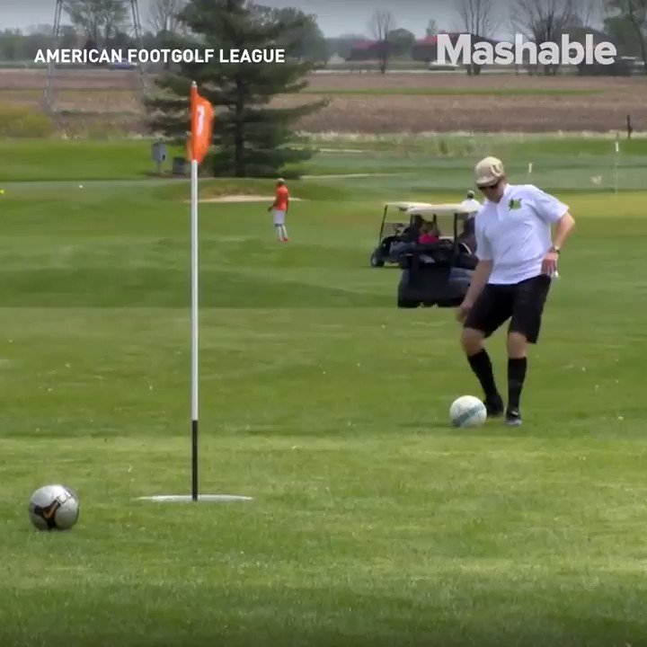 Yes, FootGolf is a thing now