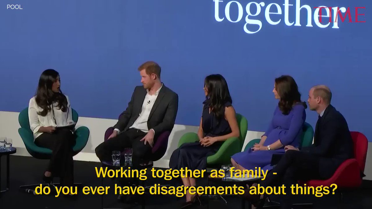 Meghan Markle just called her bond with William, Kate and Harry 'togetherness at its finest' https://t.co/hK3UqubTZ2 https://t.co/91c79AZs3M