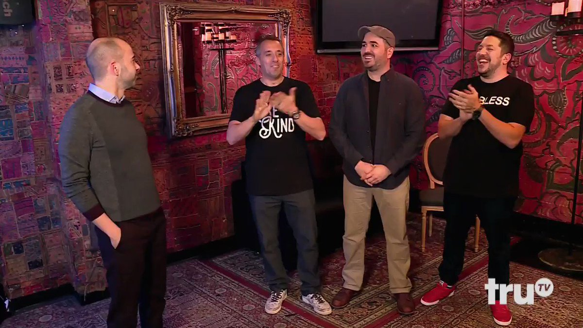Impractical jokers on twitter from the latest impracticaljokers impractical jokers on twitter from the latest impracticaljokers punishment its time to meet the law maker check out the whole episode on demand or m4hsunfo