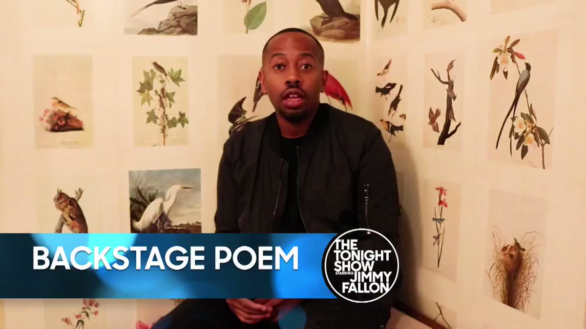 .@RudyFrancisco performs 'My Honest Poem...