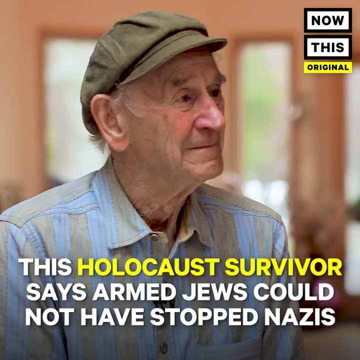This Holocaust survivor is dispelling the myth that armed Jews could have protected themselves from the Nazis https://t.co/EJq5lGMu7n