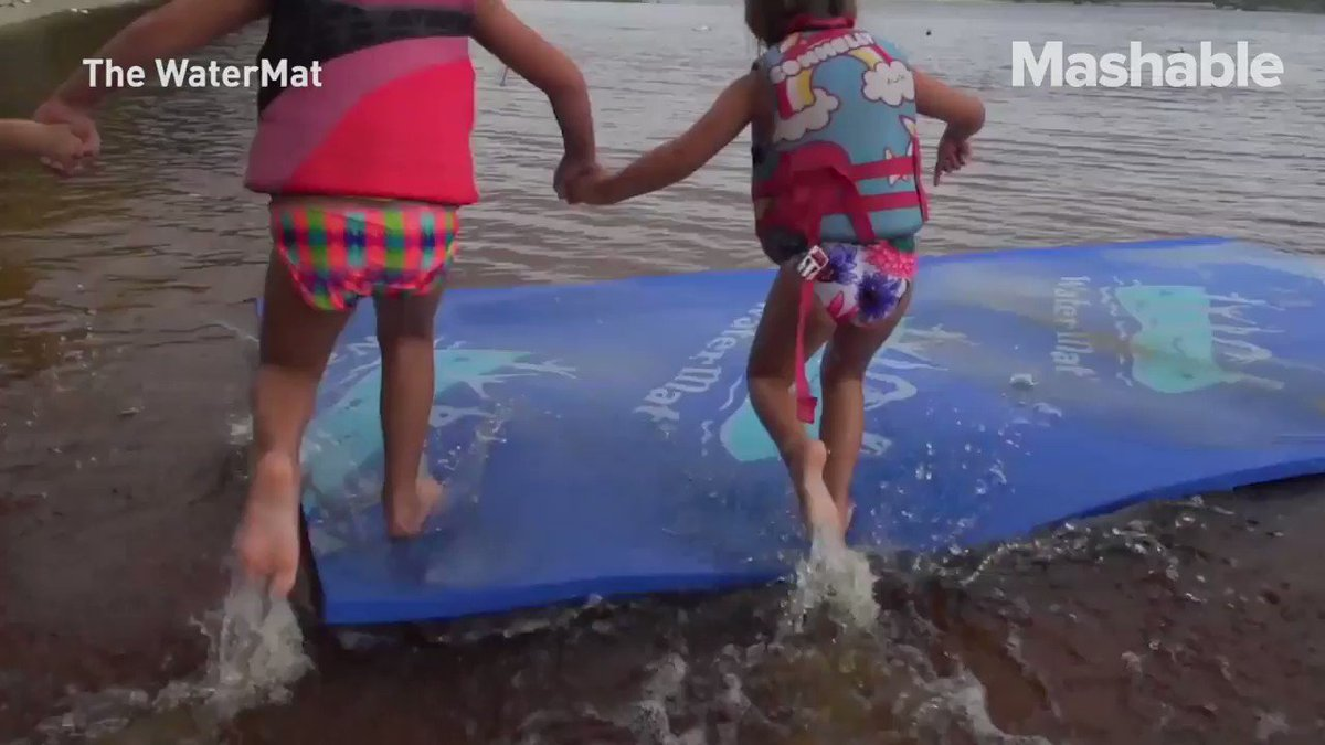 This mat lets you walk on water