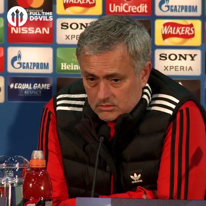 Jose Mourinho DESTROYS Frank de Boer 🔥 #MUFC