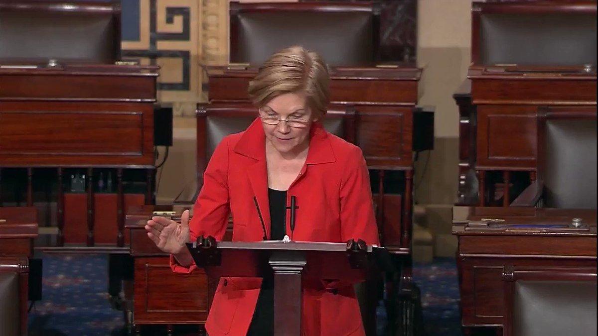 Elizabeth Warren on Twitter