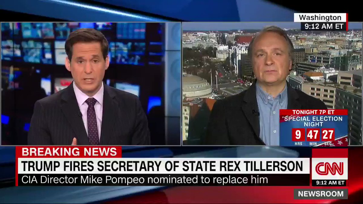 President Trump did not feel Rex Tillerson had his back lately and has wanted Mike Pompeo as his secretary of state for months, @kaitlancollins reports. The White House began planning for Pompeo to take the job last fall cnn.it/2GlZx61