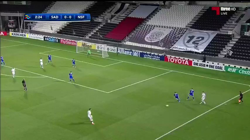 فيديو : هدف #السد 1 - 0 #ناساف_الاوزبكي...