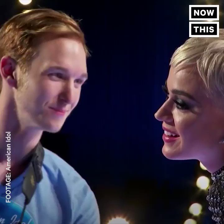 Katy Perry kissed an 'American Idol' contestant — and he really didn't like it