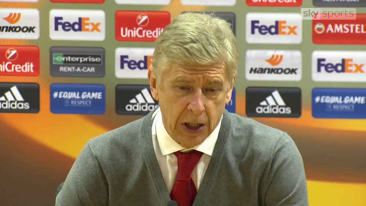 I havent seen it - Wenger on Welbecks dive. What a surprise!