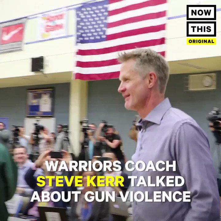 Warriors coach Steve Kerr says it's his...