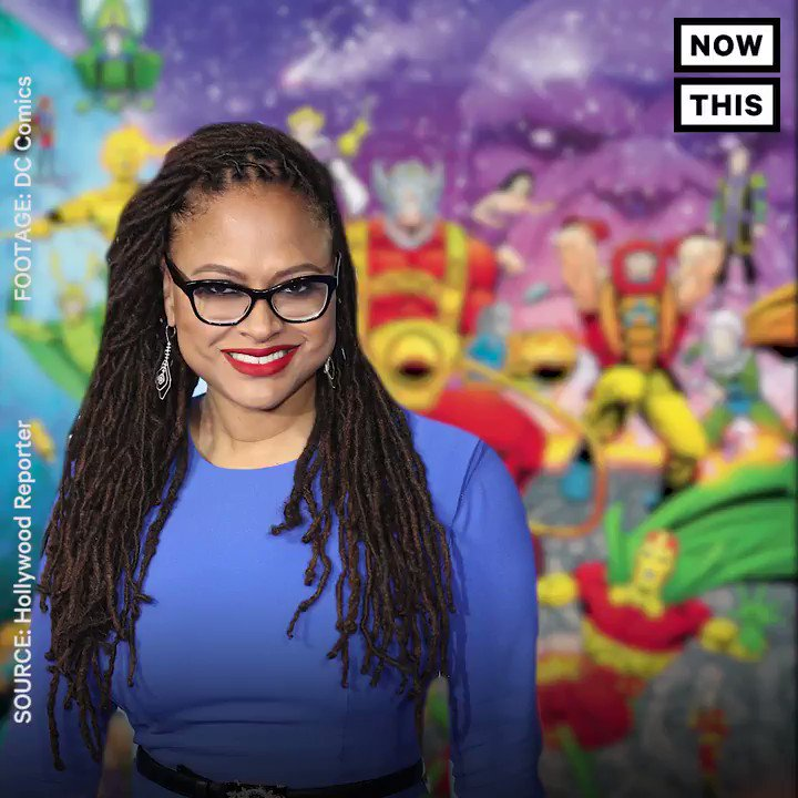 Director @Ava DuVernay is lending her powers to a DC movie