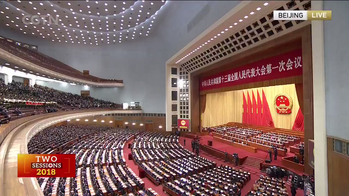 Video: Newly elected Chinese President X...