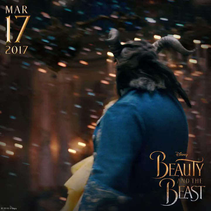 Tale as old as time, true as it can be… It's been a year since we were enchanted by #BeautyAndTheBeast!