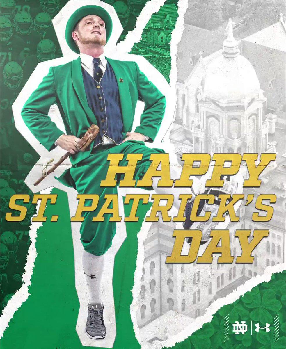Happy St. Patrick's Day! #GoIrish ☘