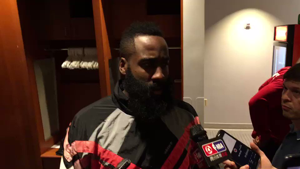 'My concern is to go out there and consistently play great every single night.'  ��⤵️@JHarden13 https://t.co/TzAJzJEBsz