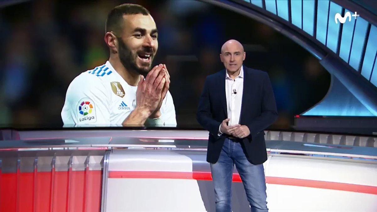 Muchos de los goles de Cristiano tienen su origen en Benzema.  La opinión de @maldiniplus sobre el atacante galo del Real Madrid.