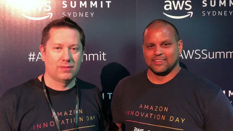 Can't make it to #AWSSummit Sydney, tune into http://amzn.to/2ExAMl1 & get a update from @pstanski & Dean Samuels.