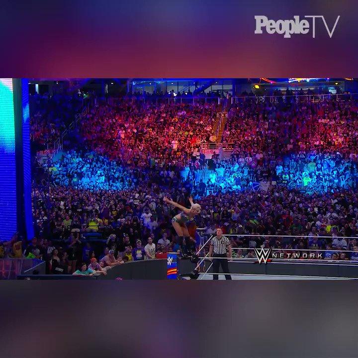 @StephMcMahon talks about the womens revolution in @WWE and what @RondaRousey has added to the division. Watch more #PeopleFeatures here: people.tv/2HhkuSM