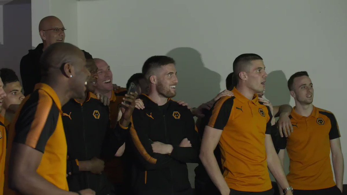 Wolves fans react to their promotion to the Premier League