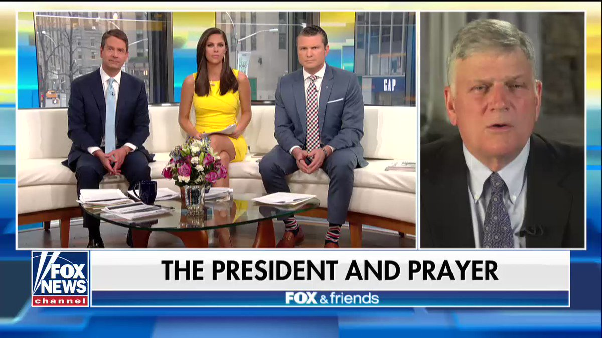 Image result for fox and friends franklin graham