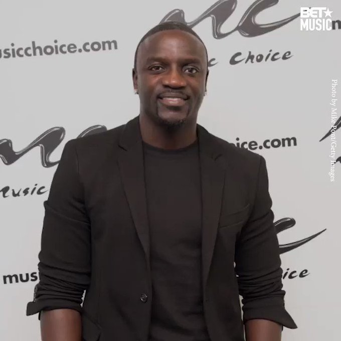 Happy birthday to our boy, Akon! Looking forward to the new music.
