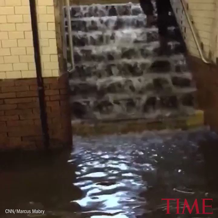 New York City subway stations are leaking and flooding https://t.co/mdWsd454aD