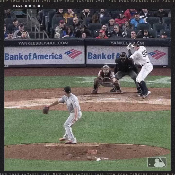 Bump that hit streak up to 12. Really bump it. #AllRise https://t.co/O6MLieR7kb