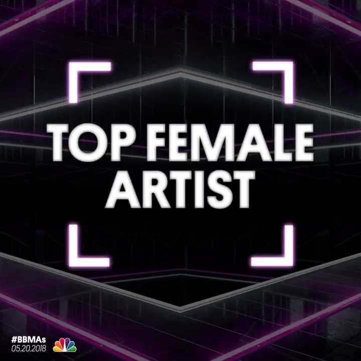 Demi is nominated in the 'Top Female Art...