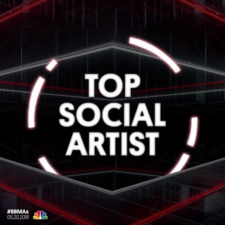 <Top Social Artist Nominees> _ @justinbieber _ @BTS_twt _ @ArianaGrande _ @ddlovato _ @ShawnMendes  </#BBMAs> https://t.co/qwiBgcZqNl