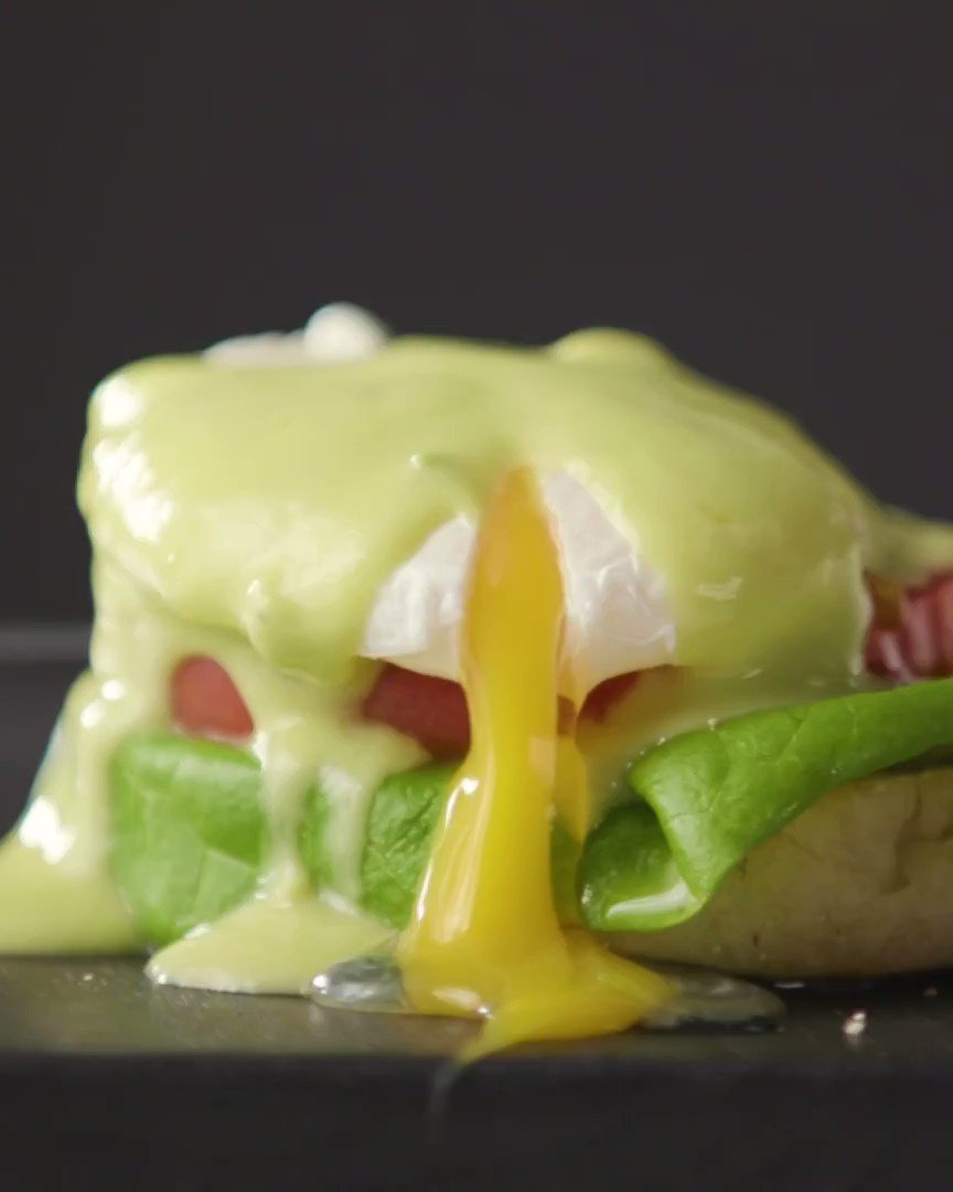 Image for the Tweet beginning: Meet hollandaise's light and avocado-ey