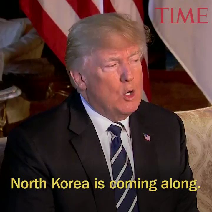 President Trump says North and South Korea 'have my blessing' to discuss ending war https://t.co/uSzb4G2thC https://t.co/nzQ2qX7Sty
