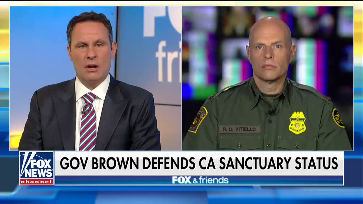 """Ronald Vitiello: """"No jurisdiction should be put in a place where they're protecting people who have broken the law."""" https://t.co/0mkTbEjmcY"""