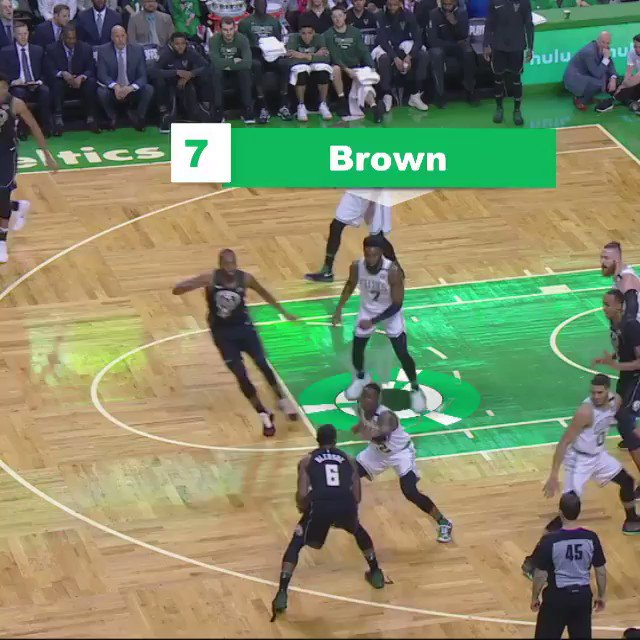 The @Celtics turn defense into offense! #NBABreakdown  #CUsRise x #FearTheDeer Game 4 ��: 1pm/et #NBAonABC https://t.co/CLZoFjtEq0