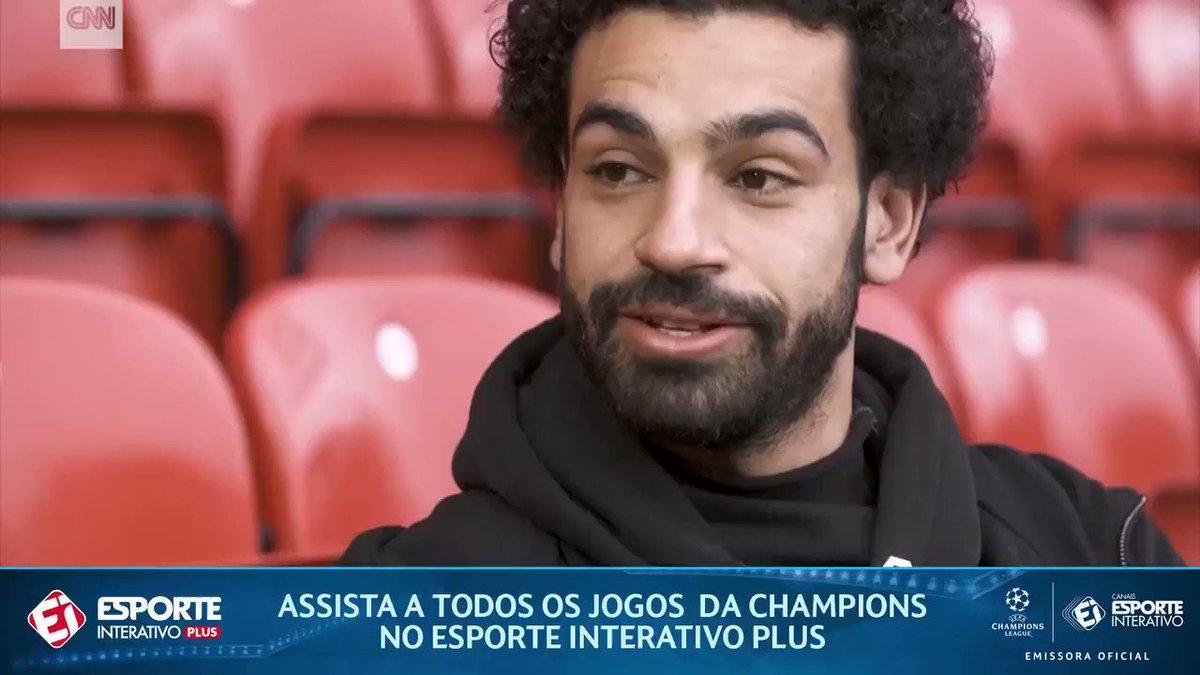 Olha a resposta que o Salah deu ao ser p...