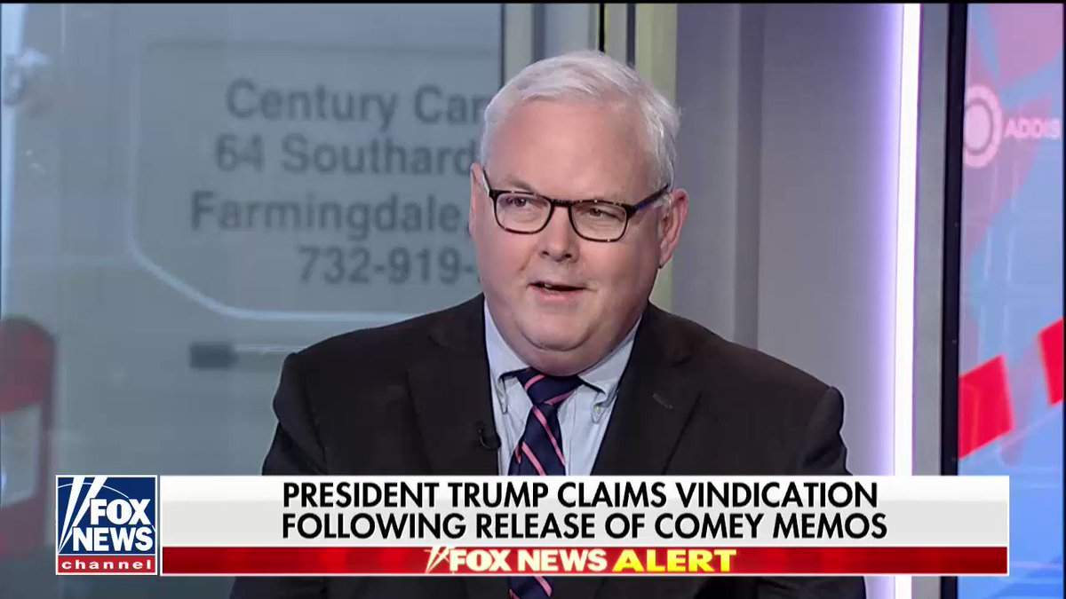 .@wjmcgurn: 'The irony of the Jim Comey memos is they seem to do the most harm to Jim Comey's reputation.' https://t.co/ZevM60Bsgz