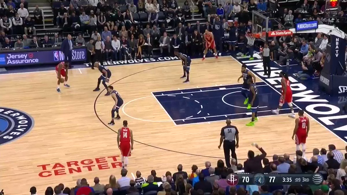 KAT trolling Harden after he air-balled 😂💀