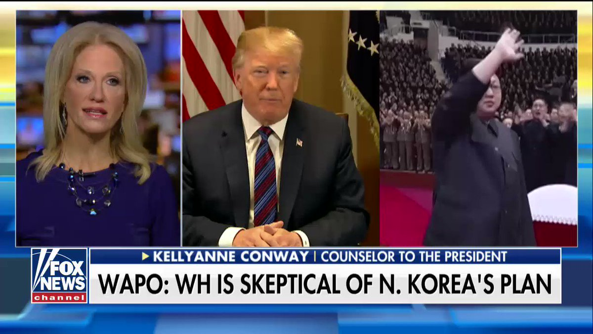 ".@KellyannePolls: ""Denuclearizing the Korean peninsula benefits everyone."" https://t.co/Z0n8gI7rwo"