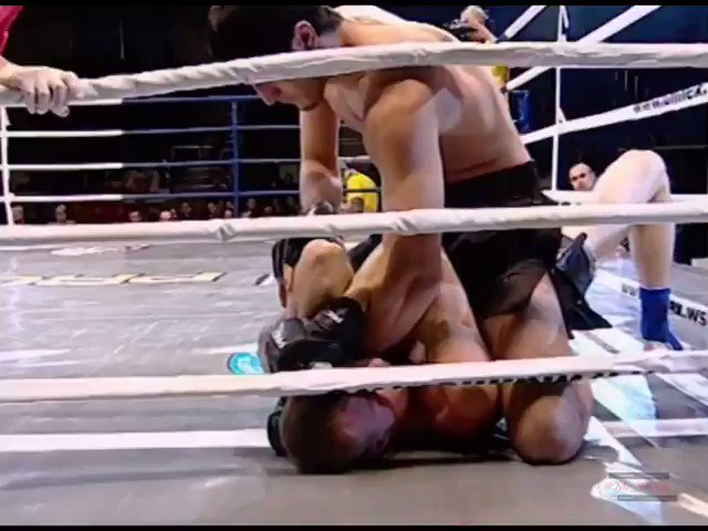 Ramazan Emeev mounted Andrei Ogorodniy then locked up an AB and got the Tap early R1 at ProFC - Union Nation Cup 13 (2011) #UFC224