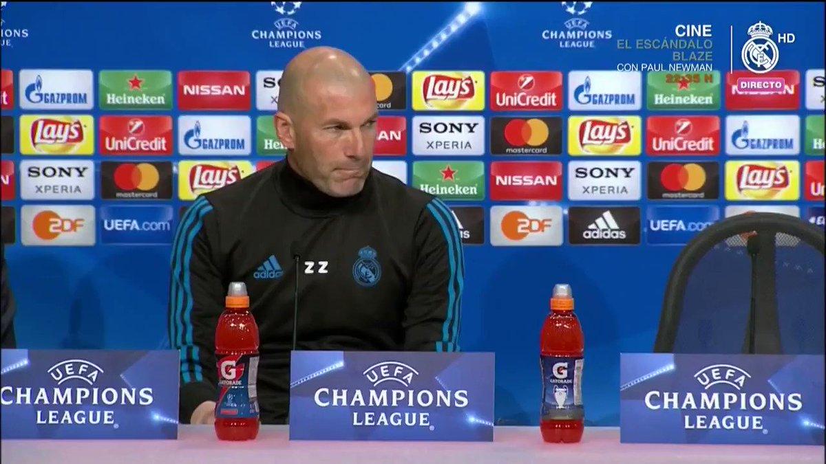 👔💬 Análisis de #Zidane de cara al partid...