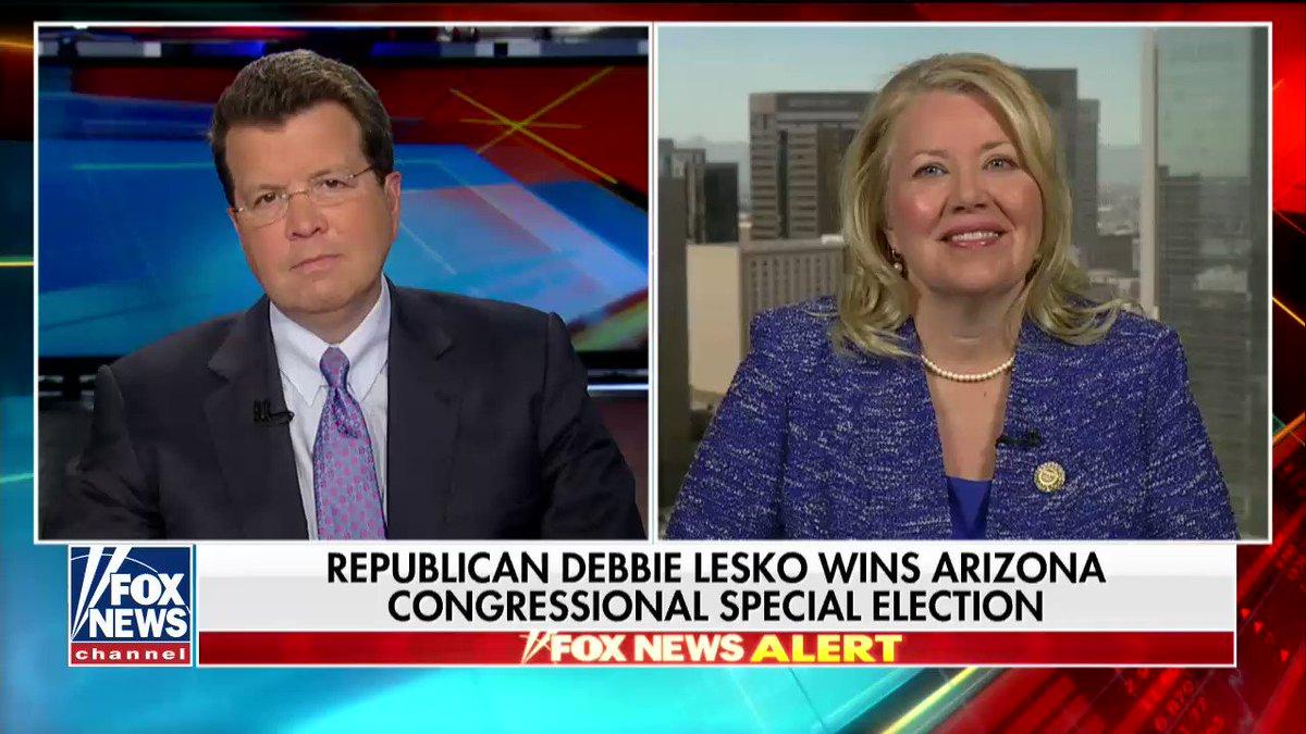 Image for the Tweet beginning: Arizona Congresswoman-elect @DebbieLesko on Democratic