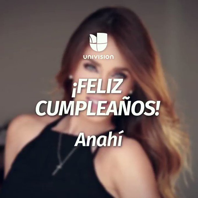 ¡Happy birthday     Felicítala aquí  .