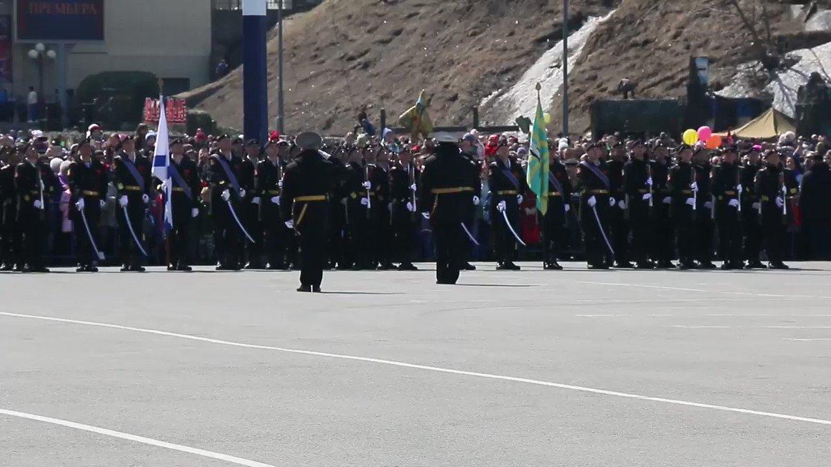 Военный парад на Камчатке