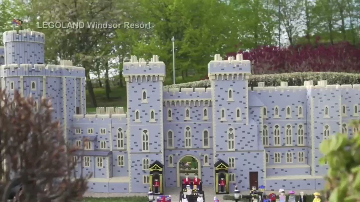 WATCH: Nearly 60,000 pieces of Lego bricks used to make a miniature model of the #royalwedding https://t.co/JcQ7XTEpi8