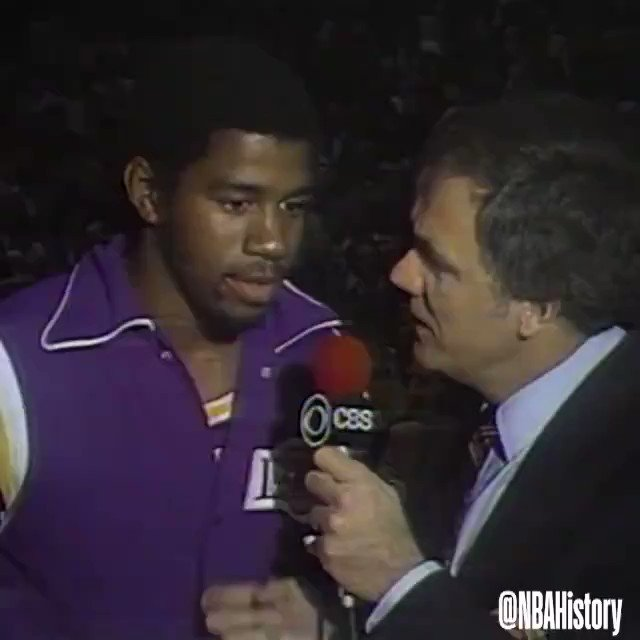 Greatest NBA Finals performance ever? Rookie Magic Johnson Playing Center for injured KareemGame 6 of the 1980 Finals 42 PTS 14-23 FG14-14 FT15 REB7 AST 3 STL1 BLK